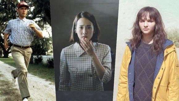 De izquierda a derecha: Forrest Gump, Parasote y Dark, incluidas en la lista de programas que prefieren los usuarios de IMDB