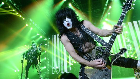 Paul Stanley, vocalista de KISS, anunció que su nueva producción musical estrenará el 5 de marzo. (Foto: BERTRAND GUAY / AFP)