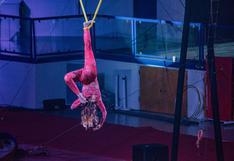 Acróbata rusa sufre estrepitosa caída durante presentación en circo