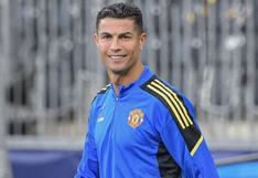 Cristiano Ronaldo y su nueva adquisición con la que llegó a los entrenamientos del Manchester United
