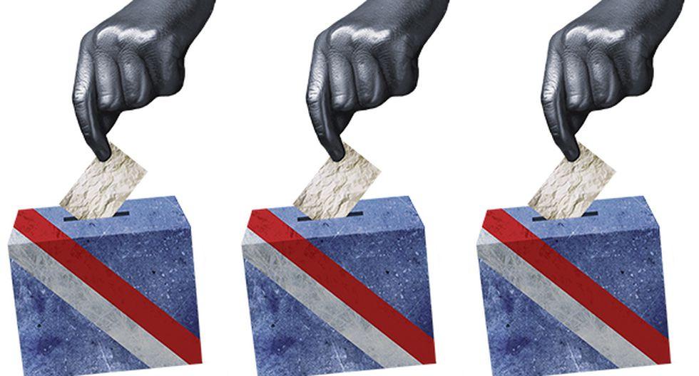 """""""Hemos, pues, tocado fondo y ahora hay que salir flotando por un camino constitucional"""". (Ilustración: Giovanni Tazza)"""