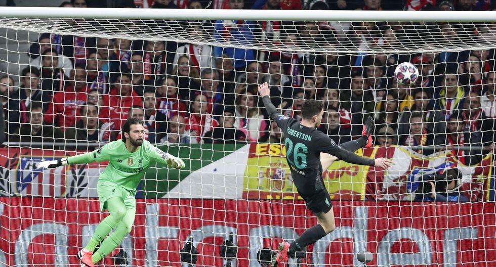 Atlético de Madrid vs. Liverpool: las mejores postales del partido de Champions League en el Wanda. (Foto: Agencias)