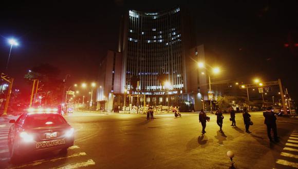 Esta semana personal de Fiscalía realizó diligencias en la zona de las manifestaciones. (Fotos: Cesar Grados/@photo.gec)