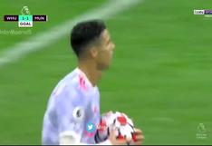 Gol de Cristiano Ronaldo: 'CR7′ marcó un tanto para el Manchester United | VIDEO
