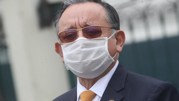 Edgar Alarcón negó haber coordinado la labor de la Comisión de Fiscalización con Fabio Noriega. (Foto: GEC)