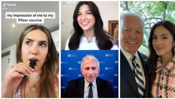 El gobierno de Estados Unidos quiere impulsar mensajes a favor de la vacunación a través de redes sociales como TikTok e Instagram. (Capturas de video / Instagram)