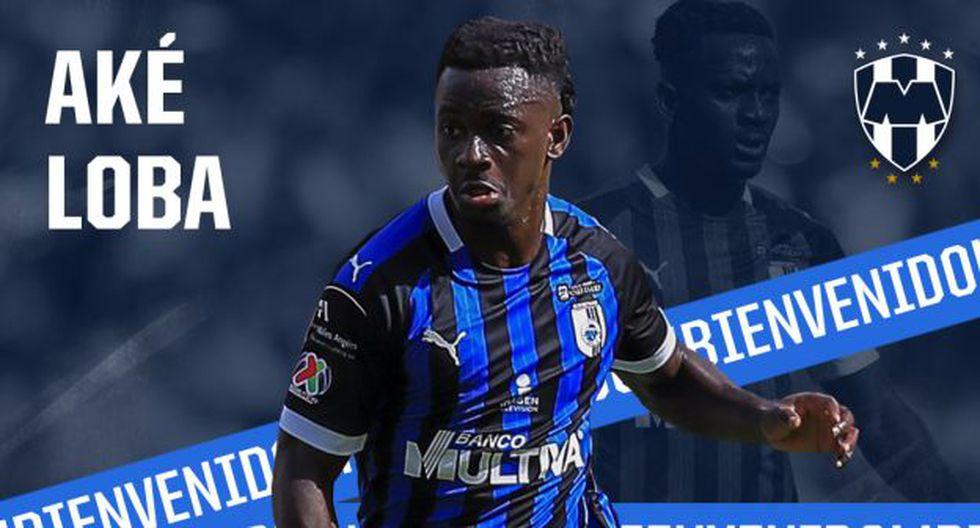 Aké Loba jugará en Monterrey tras su paso por Querétaro. (Foto: @Rayados / Twitter)