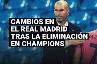 Revolución en el equipo de Zidane, las figuras que podrían dejar el Real Madrid tras la eliminación de Champions League