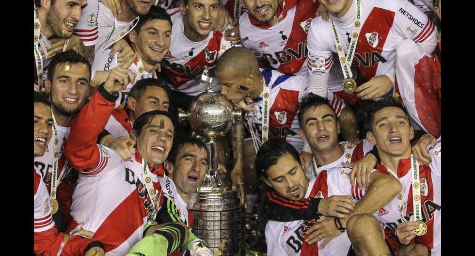 2015, River Plate. (Foto: EFE)