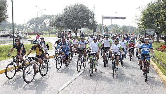 San Borja: préstamo de bicicletas logró un ahorro de S/.152 mil