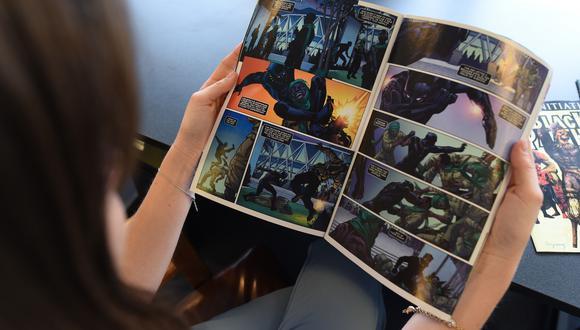 El lenguaje de los cómics también puede ser de utilidad en los colegios.