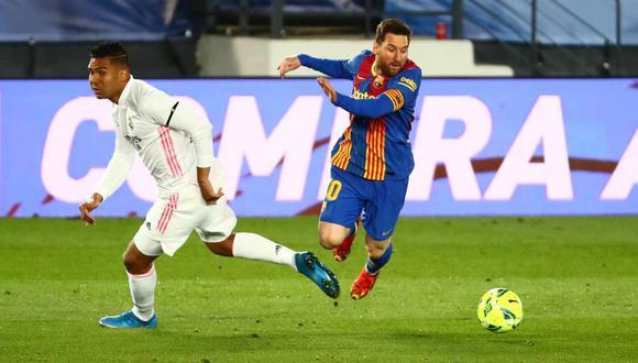 Lionel Messi igualó a Sergio Ramos en la cantidad de presencias en la historia del Real Madrid vs. Barcelona. (Foto: Reuters)