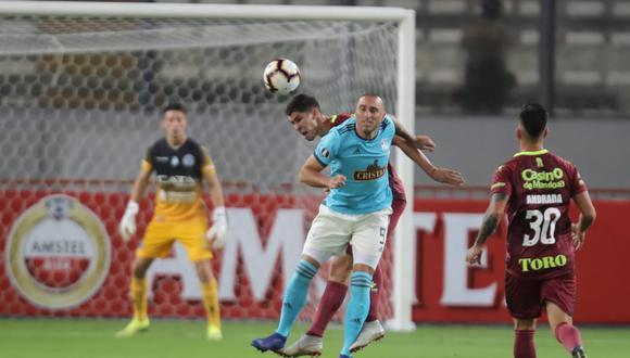Sporting Cristal igualó 1-1 frente a Godoy Cruz en el Estadio Nacional. (Foto: Giancarlo Ávila)