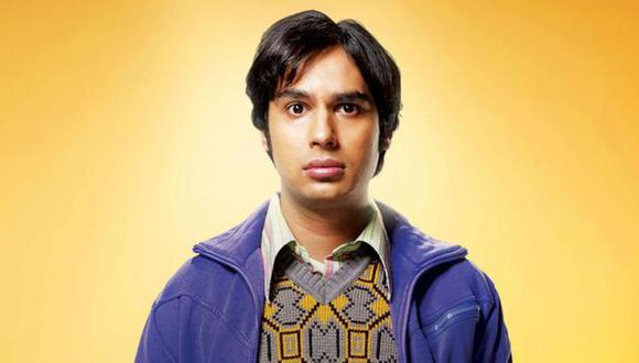 """El origen de Raj iba a ser muy diferente en """"The Big Bang Theory"""" (Foto: CBS)"""
