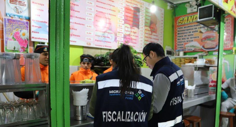 Detuvieron a 17 extranjeros por no contar con documentación en regla. (Foto: Municipalidad de Magdalena del Mar)