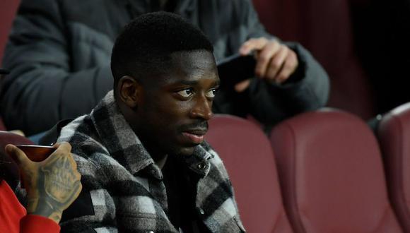 Ousmane Dembélé no ha podido demostrar su valía en el Barcelona producto de las lesiones. (Foto: AFP)