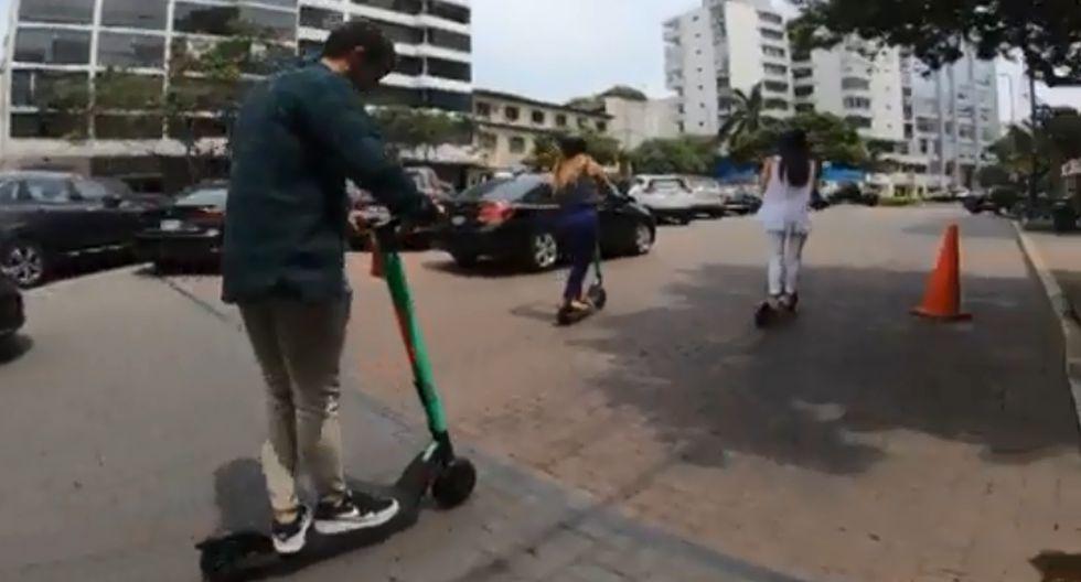 """""""En Lima, los scooters eléctricos son más sostenibles que un taxi o bus, y definitivamente más divertidos"""". (Imagen referencial: Publimetro)"""