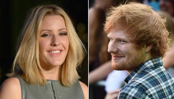 """¿Ellie Goulding desmiente a Ed Sheeran?: """"Nunca tuvimos nada"""""""