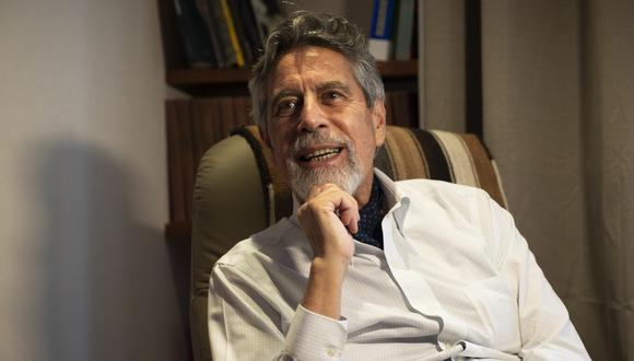 En este episodio de Mentes Peruanas, Bruno Ortiz entrevista a Francisco Sagasti en exclusiva. (Foto: Renzo Salazar/ GEC)