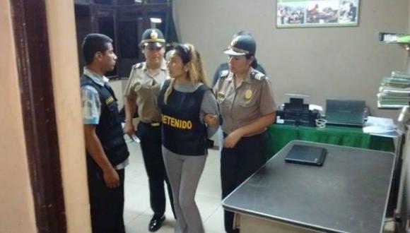 La Centralita: capturan a ex trabajadora de gobierno regional