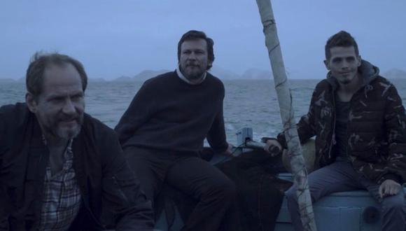 Igor Kondyakov, Andrey Sladkov y Ravil Sadreev, actores rusos de la primera película peruana grabada en Chimbote.