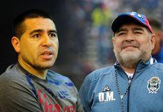 Boca Juniors: Diego Maradona tildó a Juan Roman Riquelme de ''vendido''