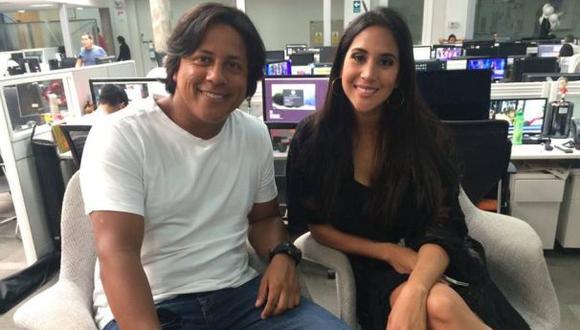 """Melissa Paredes y Emilram Cossío, actores de """"Ojitos Hechiceros"""". (Foto: El Comercio)"""