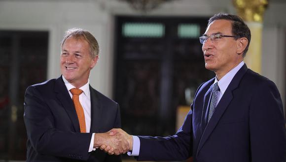 Muñoz resaltó que se trató de una reunión cordial y positiva. (Foto: EFE)