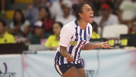Shiamara Almeida es una de las mejores jugadoras del club Alianza Lima. (Foto: ITEA Photos)