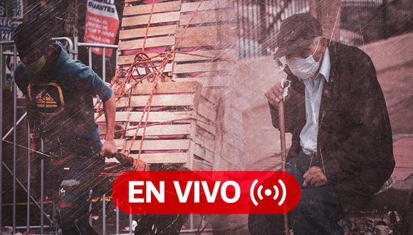 Coronavirus Perú EN VIVO | Últimas noticias, casos y muertos por Covid-19 en el día 97 del estado de emergencia, hoy domingo 21 de junio de 2020 | Foto: Diseño GEC