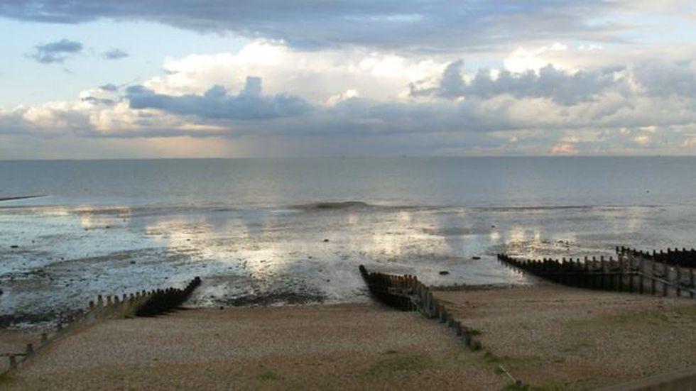 El prototipo de la bomba británica tuvo que ser desechado en el estuario del Támesis y nunca fue encontrado. (Getty)