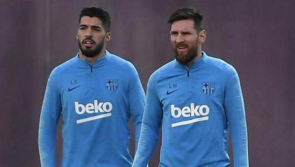Lionel Messi estuvo solo un día en Barcelona. (Foto: AFP)