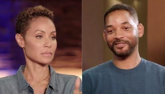 La esposa de Will Smith, Jada Pinkett Smith, reveló que vivió un corto romance con el cantante August Alsina, de 27 años. (Foto: Captura de TV)