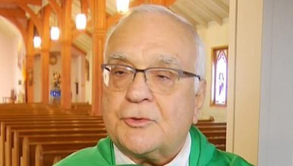 Richard Bucci, un cura de Rhode Island, afirmó que el aborto es más nocivo que la pedofilia. Crédito: NBC 10