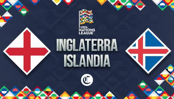 Inglaterra e Islandia se verán las caras por el Grupo 2 de la UEFA Nations League. (Foto: Diseño El Comercio)