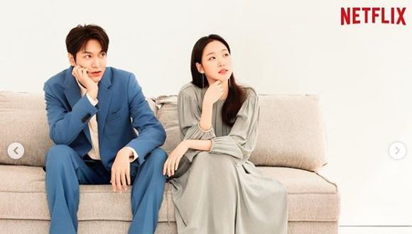 Los protagonistas del dorama The king: eternal monarch son Lee Min Ho y Kim Go Eun (Foto: Instagram)