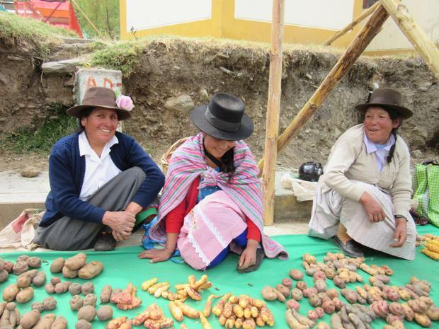 Muru Raymi o Fiesta de las Semillas, tradición campesina que se celebra Huánuco y en la que se intercambian semillas y saberes. (Foto Filfilms)