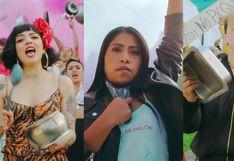 """""""Oye Piñata, no tenemos miedo"""", el grito de protesta de Mon Laferte y Yalitza Aparicio en el videoclip de """"Plata Ta Tá"""""""