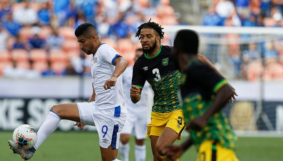 El Salvador igualó 0-0 frente a Jamaica por la Copa Oro 2019 desde el BBVA Stadium. | Foto: Captura