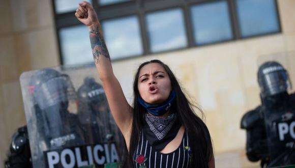 El fallo de la Corte Suprema ordena al gobierno de Colombia a tomar medidas que garanticen la protesta pacífica. (GETTY IMAGES).