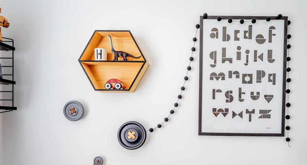 Cómo decorar un cuarto de niños para estimular su creatividad  - 2