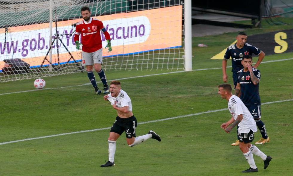 Colo Colo venció a la U de Chile en el Monumental con gol de Leonardo Gil | Foto: Twitter