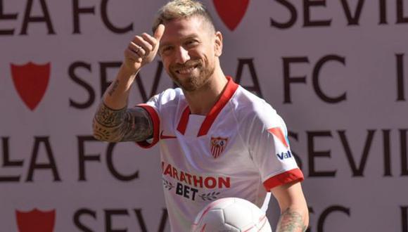'Papu' Gómez firmó contrato con Sevilla hasta el 30 de junio de 2024. (Foto: Sevilla FC)