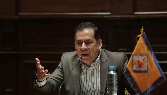"""Vega consideró que se busca """"distraer"""" al país con la opinión de Antauro Humala para evitar que se discuta la vacancia contra el jefe del Estado. (Foto: Anthony Niño de Guzmán / @photo.gec)"""