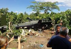Junín: helicóptero del Ejército Peruano cayó en Mazamari y dejó varios heridos   VIDEO