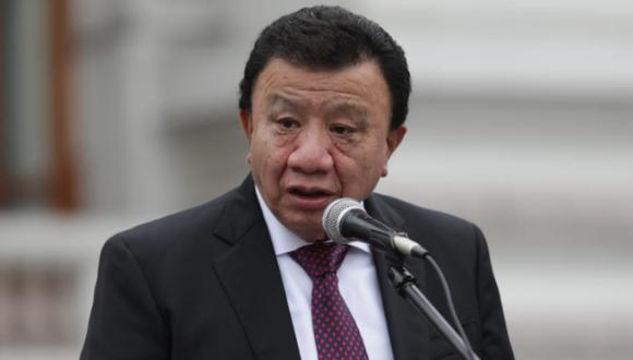 Enrique Wong, primer vicepresidente de la Junta Preparatoria y congresista de Podemos Perú. (Foto: Anthony Niño de Guzmán / @photo.gec)