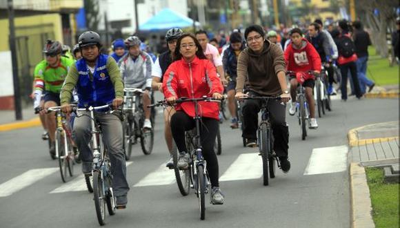 Miraflores evalúa servicio público de bicicletas en su distrito