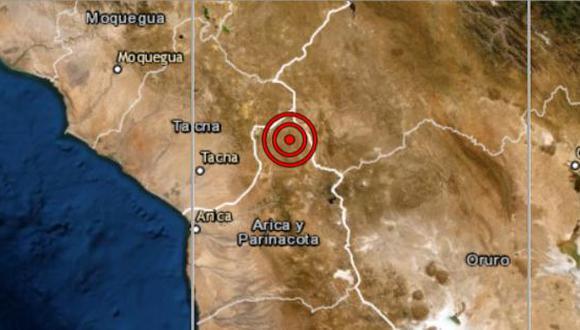 Las autoridades locales del Instituto Nacional de Defensa Civil (Indeci) aún no han reportado daños personales ni materiales a causa del sismo, que ocurrió esta mañana. (Captura de pantalla)
