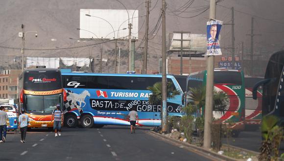 ADEX pidió al Gobierno que tome acción sobre el paro de transportistas. (Foto: Hugo Curotto | GEC)