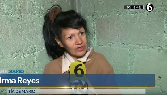 Fátima: Irma Reyes, la valiente tía que entregó a los feminicidas y que no busca recompensa alguna. Foto: Captura de video